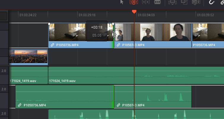 DaVinci Resolve 15 Video Crash Course — The Edit Tools — Ripple Edit