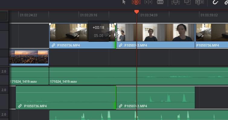DaVinci Resolve 15 Video Crash Course — The Edit Tools — Ripple Edit