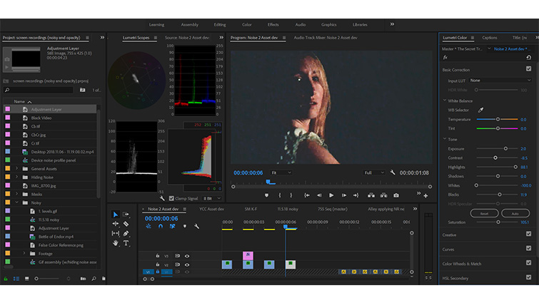 Post-Production Tip: Quick and Dirty Noise Reduction Without a Plugin — Artifacts Adjustments