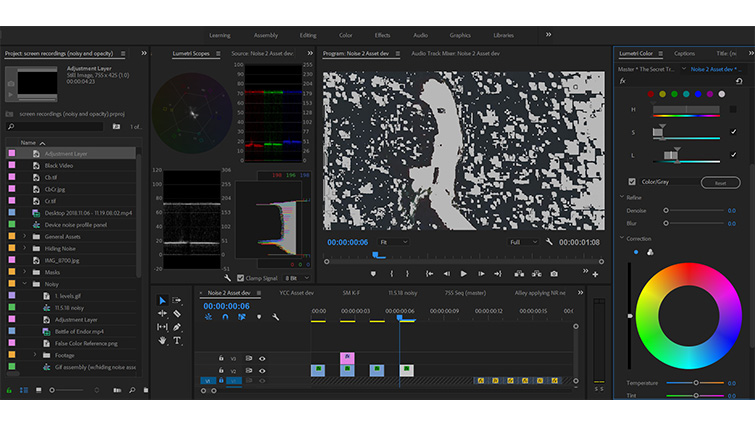 Post-Production Tip: Quick and Dirty Noise Reduction Without a Plugin — Saturation and Luminance Qualifiers