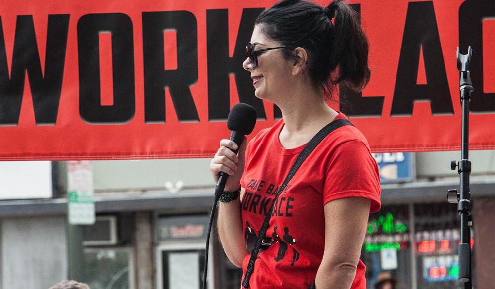 Interview: Outspoken Comedian Tess Rafferty on Getting Political
