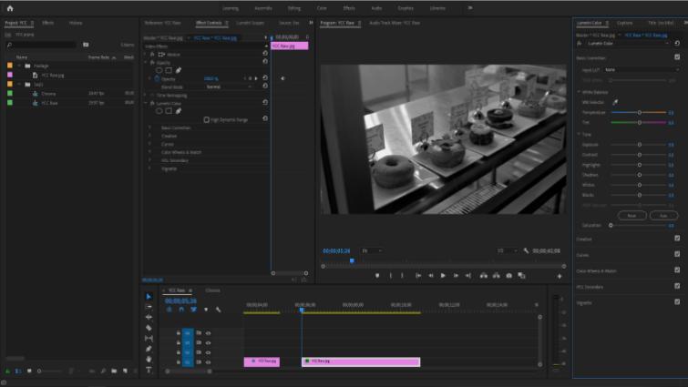 Isolando canais de imagem para trabalhar com Chroma e Luma no Premiere - Separação