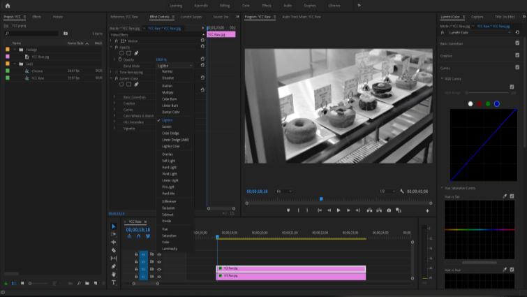 Isolando Canais de Imagem para Trabalhar com Chroma e Luma no Premiere - Isolar Canal Azul