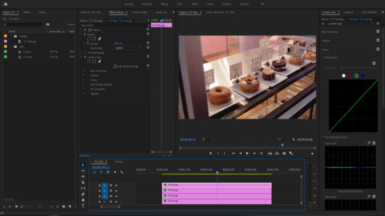 Isolating Image Channels to Work with Chroma and Luma in Premiere