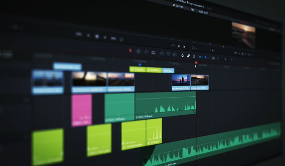 DaVinci Resolve 15 Video Crash Course — Working with Audio on The Edit Page