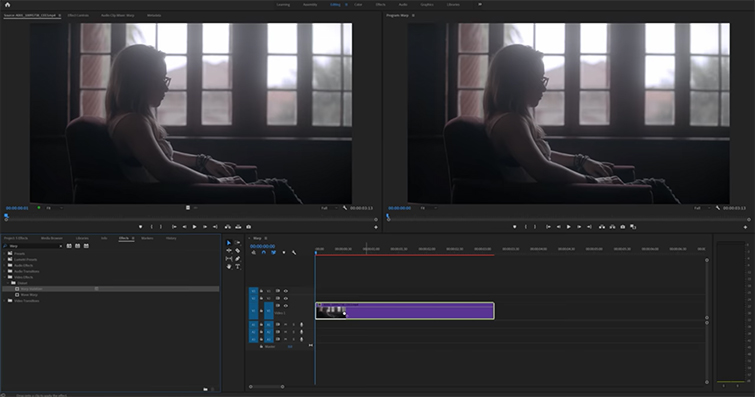 Roundup: 5 Awesome Editing Effects in Adobe Premiere Pro — Warp Stabilizer