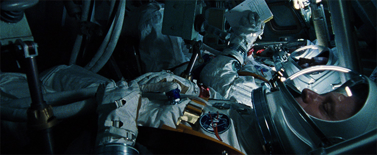 Tom Cross on Editing First Man and Working with IMAX Footage — Production Still