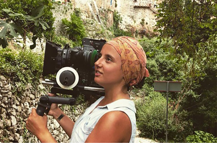 Industry Interview: Behind the Lens with Filmmaker Carolina Costa — Carolina with Camera