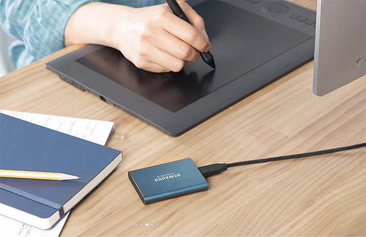 Roundup: The Best Portable Hard Drives for Video Editing — Samsung Portable Solid State Drive
