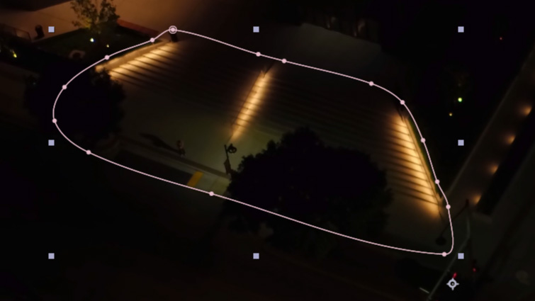 How to Change the Color of Exterior Lights in After Effects — Masking Lights