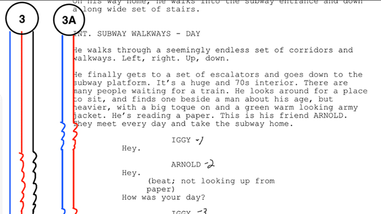Industry Insights: The Ins and Outs of a Script Supervisor — Lining a Script