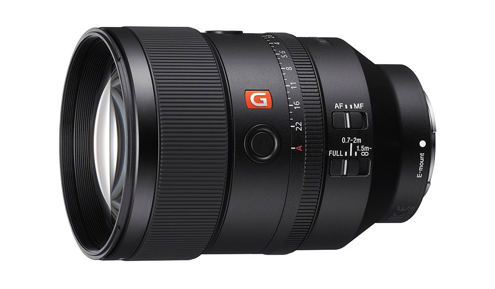 Sony Announces a New 135mm G Master Lens at F1.8