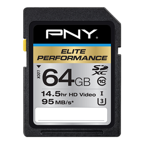 Gear Roundup: Finding the Best SD Cards for Your Camera — PNY Elite Performance SDXC Class 10