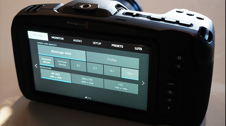 Blackmagic RAW Added to BMPCC4K with Blackmagic Camera Update 6.2 — Blackmagic RAW