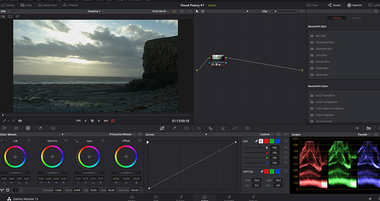 Post-Production Tips: Using a LUT at the Beginning of a Node Tree — Highlights with LUT