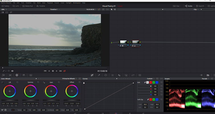 Post-Production Tips: Using a LUT at the Beginning of a Node Tree — Lowering Highlights