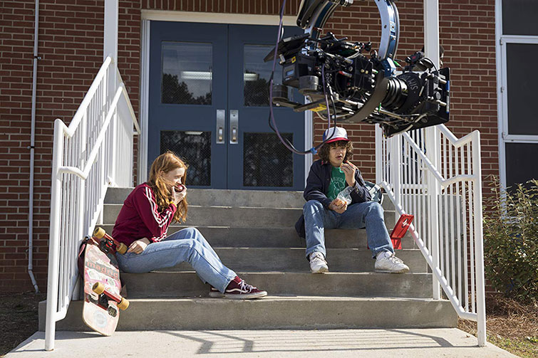 The Cameras Behind Popular Netflix Originals: Films and Series — On Set