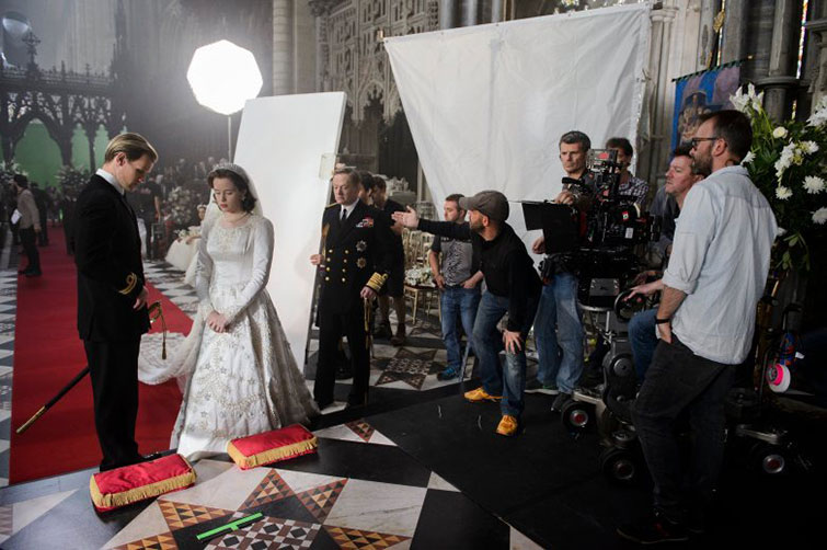 The Cameras Behind Popular Netflix Originals: Films and Series — The Crown