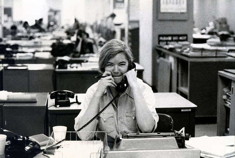 Below-the-Line Women Speak Out on Gender and Experience — Molly Ivins