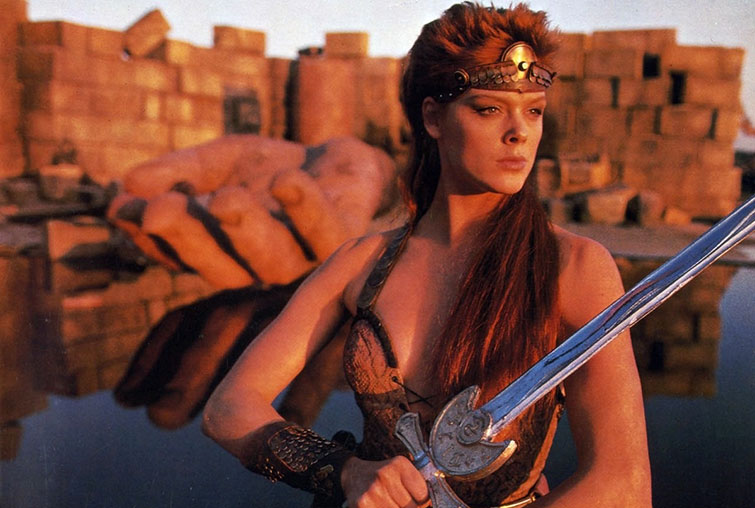 Back Issues: 5 Infamous Comic Book Movies from the 1980s — Red Sonja