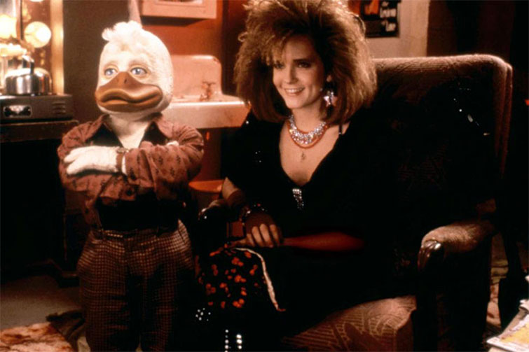 Back Issues: 5 Infamous Comic Book Movies from the 1980s — Howard the Duck