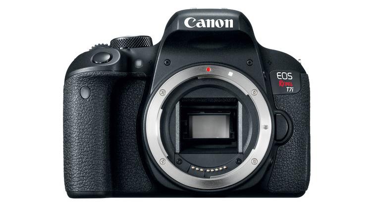 Una recensione delle migliori videocamere cinematografiche Under $ 1.000 - Cannon EOS Rebel T7i