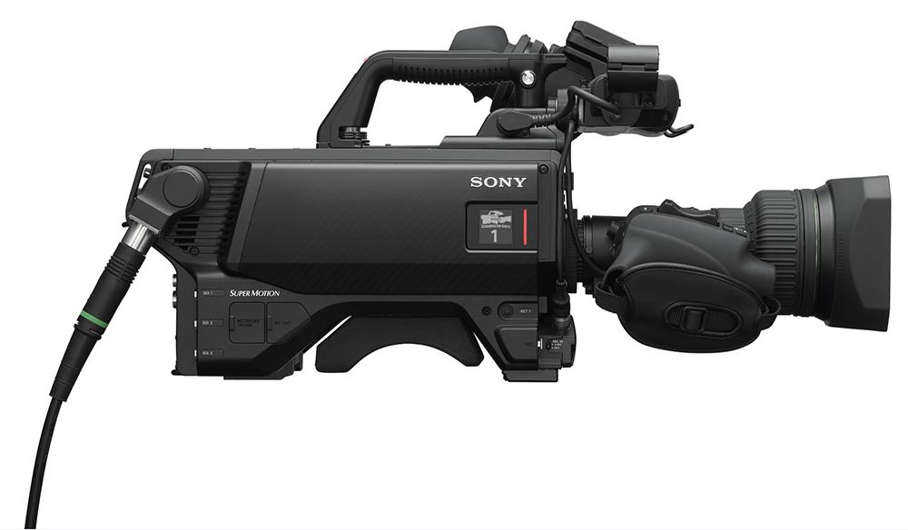 Kamera Sony HDC-5500 do produkcji 4K na żywo to system transmisji