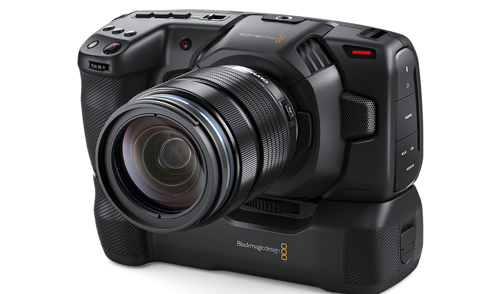NAB 2019: Blackmagic Design Announces New Battery Grip for the BMPCC4K