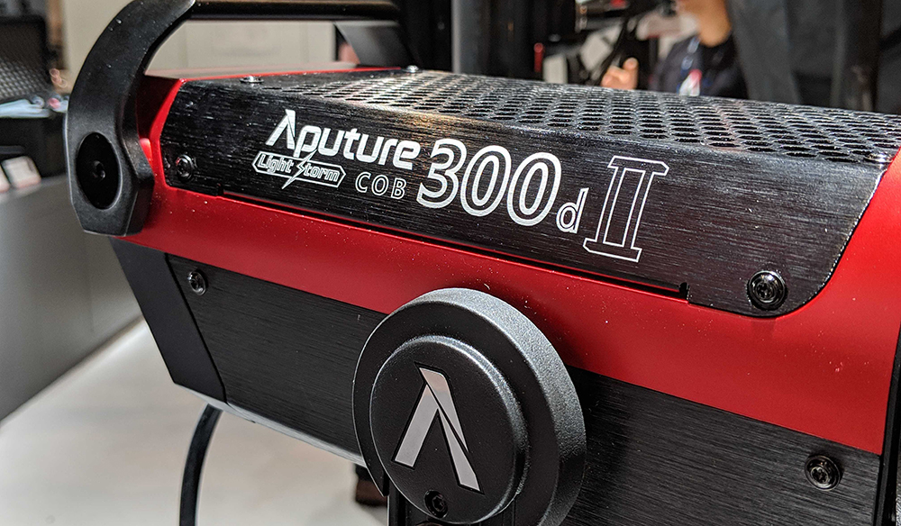 NAB 2019: Aputure's New Gear — The 300d II, LEKO Attachment, and More