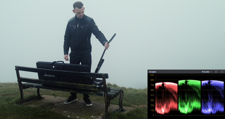 Quick Tips For Getting The Best Results When Filming In Natural Fog - Adding Contrast
