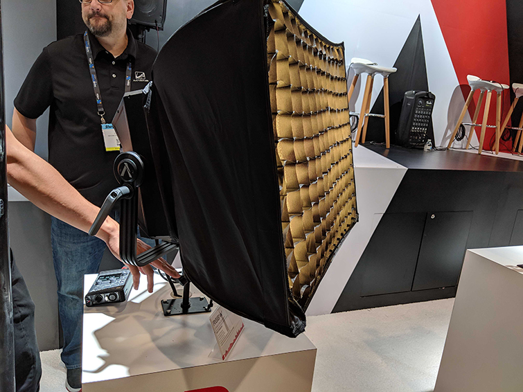 NAB 2019: Aputure's New Gear — The 300d II, LEKO Attachment, and More — RGBW Light
