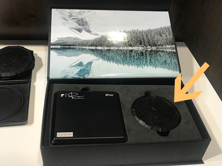 NAB 2019: Polar Pro's New Peter McKinnon Variable ND Filter — Rubberized Cover