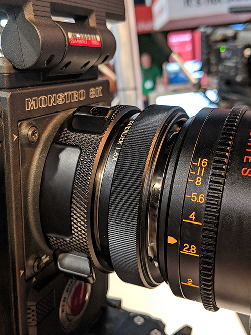 NAB 2019: Atlas Reveals Anamorphic 25mm Lens and LF Extender — LF Extender