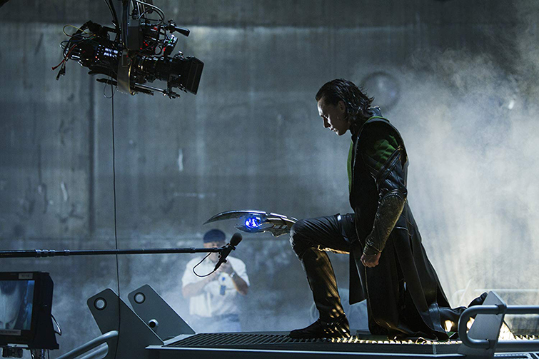 The Cameras and Lenses Behind the Marvel Cinematic Universe (Phase One) - Tom Hiddleston as Loki