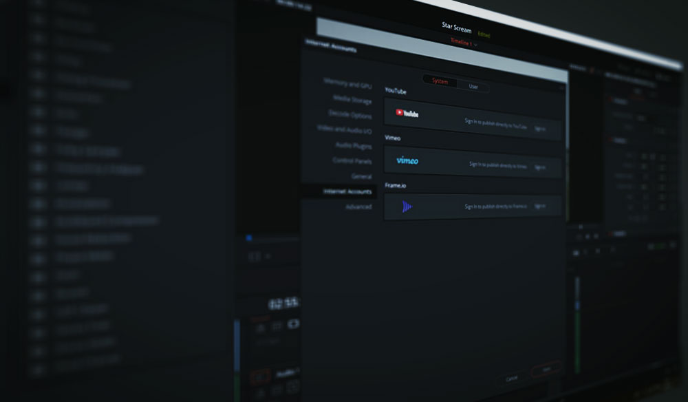 How to Upload to YouTube Directly from DaVinci Resolve 16