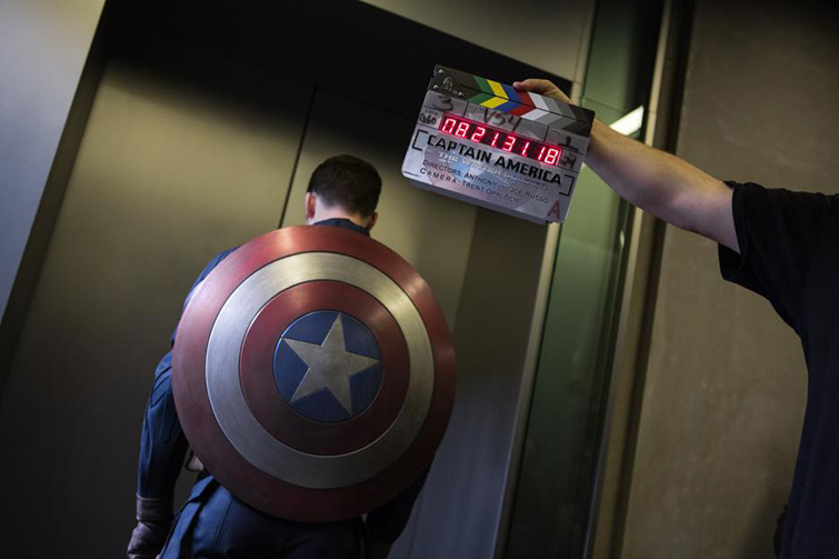 The Cameras and Lenses Behind the Marvel Cinematic Universe (Phase Two) - Chris Evans as Captain America