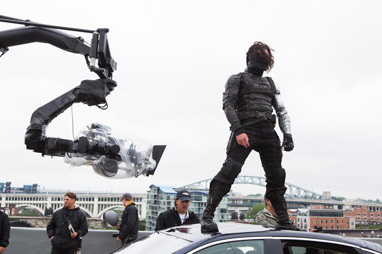 The Cameras and Lenses Behind the Marvel Cinematic Universe (Phase Two) - Sebastian Stan as Winter Soldier
