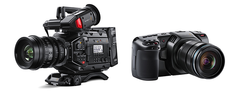 Camera Insights: The Best A-Cam and B-Cam Video Setups - Blackmagic URSA Mini Pro and the BMPCC 4K