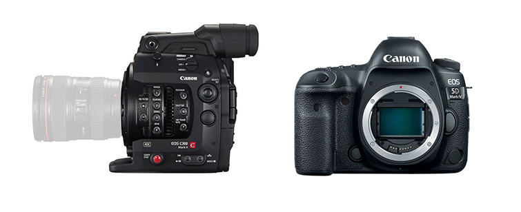 Camera Insights: The Best A-Cam and B-Cam Video Setups - Canon C300 and the Canon 5D