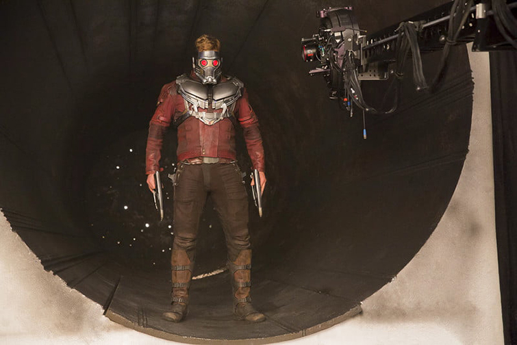 The Cameras and Lenses Behind the Marvel Cinematic Universe — Phase Three - Chris Pratt