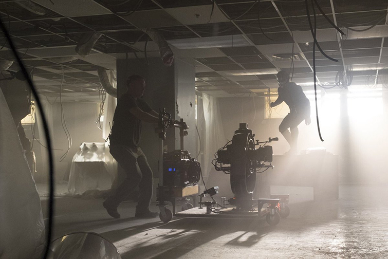 The Cameras and Lenses Behind the Marvel Cinematic Universe — Phase Three - Ant-Man On Set