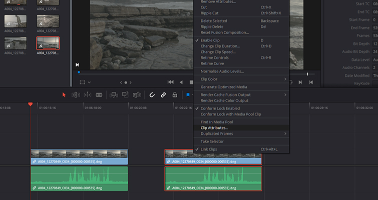 How to Work With Different Frame Rates With the Same File in Resolve - Frame Rate