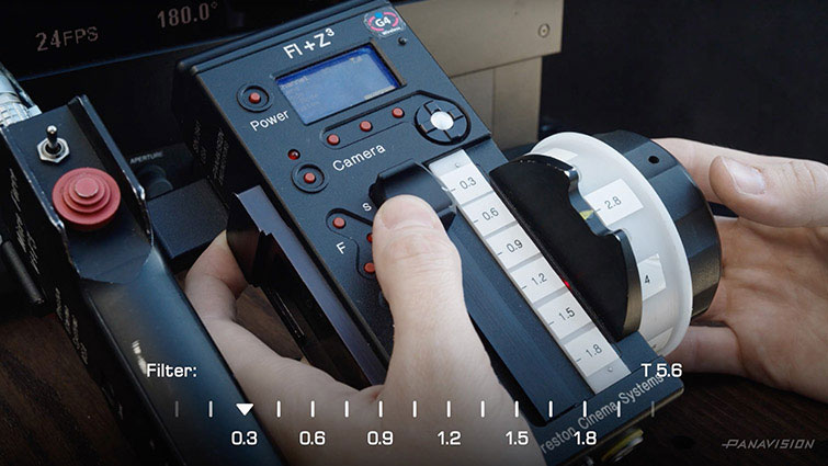 What is Panavision's Liquid Crystal Neutral Density (LCND)? - LCND from Panavision