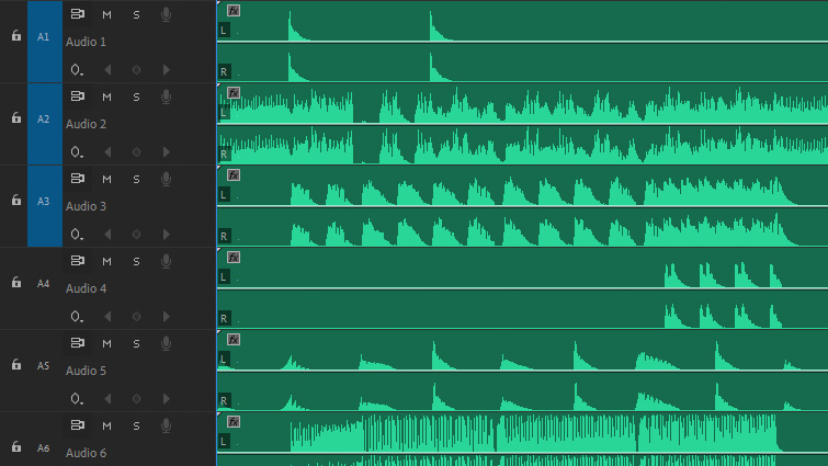 Increase Production Value: Creative Ways Video Editors Can Use Song Stems - Tracks in Timeline