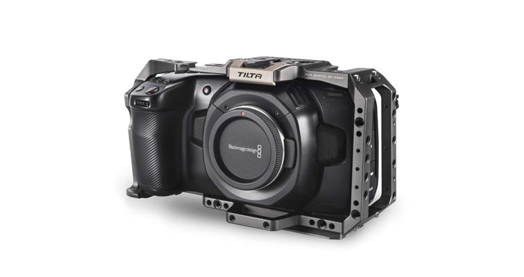 Building a Low Budget Handheld Rig for the Blackmagic Pocket Cinema Camera 4K - Tilta Cage