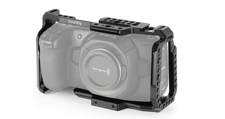 Building a Low Budget Handheld Rig for the Blackmagic Pocket Cinema Camera 4K - SmallRig BMPCC4K Cage