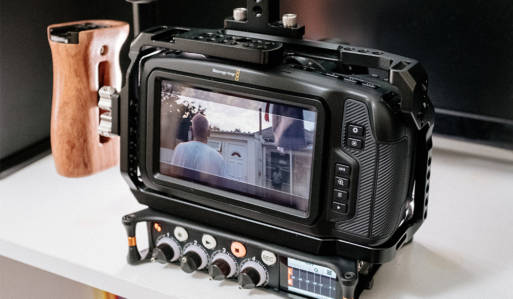 Building a Low Budget Handheld Rig for the Blackmagic Pocket Cinema