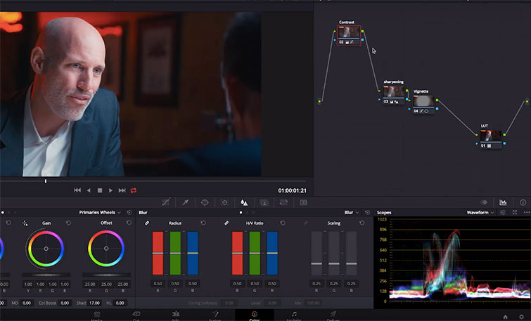 Harnessing The Power of Facial Refinement in DaVinci Resolve — Nodes