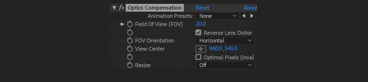 Easy Compositing Tips in After Effects for Professional-Looking Titles — Compensation Settings