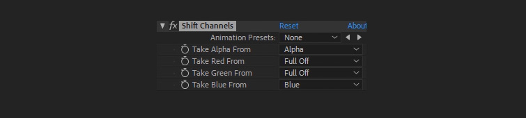 Easy Compositing Tips in After Effects for Professional-Looking Titles — Channels Settings